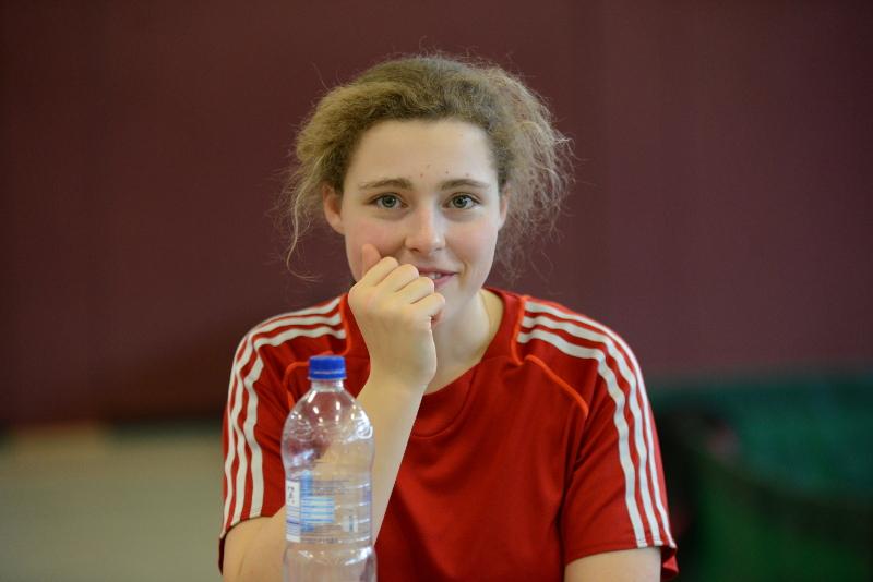 Kandidatin in der Kategorie Jugend bei der Wahl zum TG Sportler des Jahres - Pauline Wieland
